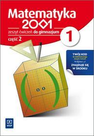 WSiP  Matematyka 2001. Klasa 1. Zeszyt ćwiczeń. Część 2