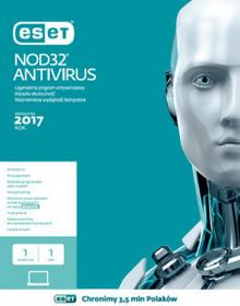 Eset Antywirus Nod32 1PC 3 Lata Nowa licencja