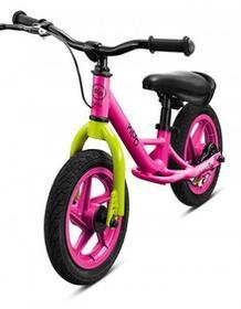 Kido Rowerek biegowy Classic Pink + kask