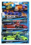 Mattel HOT WHEELS Ciężarówka i samochód. 5 rodzajów BDW51