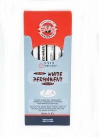 Koh-I-Noor Marker permanentny okrągły 3313 biały pudełko A 12