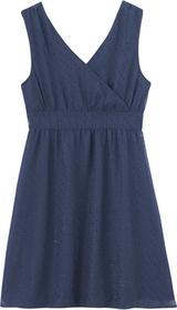 Camaeu Sukienka szyfonowa z drapowaną górą 515096_2409