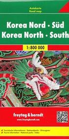 Freytag&Berndt Korea Północna Korea Południowa mapa 1:800 000 Freytag & Berndt