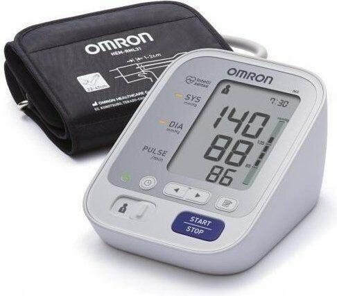 Omron Ciśnieniomierz M3 Comfort Edycja Limitowana ciśnieniomierz automatyczny naramienny + organizator na leki