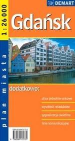 Demart Gdańsk - plan miasta (skala 1:26 000) - Praca zbiorowa
