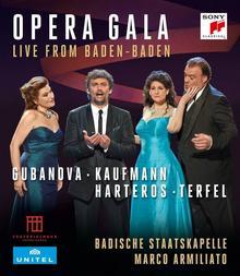 Opera Gala Live from Baden-Baden Blu-ray) Jonas Kaufmann