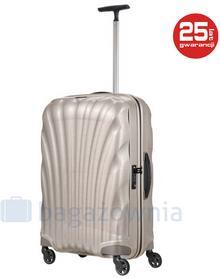Samsonite Średnia walizka COSMOLITE 73350 Perłowa - perłowy