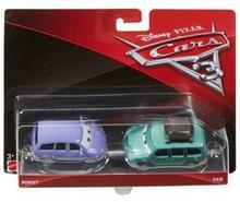 Mattel Auta 3 Cars 3 dwupak Minny &amp Van Die-Cast Vehicle DXV99/DXW06