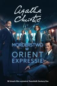 MORDERSTWO W ORIENT EXPRESSIE OKŁADKA FILMOWA Agatha Christie