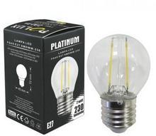 Polux Żarówka LED Filament bańka G45 E27 230lm ciepła biała