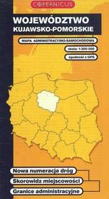 Województwo kujawsko-pomorskie Mapa samochodowa 1:300 000