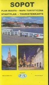 Bik Sopot plan miasta mapa turystyczna - Wydawnictwo BiK