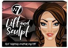 W7 Lift and Sculpt Face Shaping Contour Palette 5060503752801