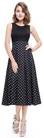 Alisapan alisapan damski do kolan impreza sukienka sukienka letnia sukienka linia A 05499 -  A-linie 44 B0744GFVGN
