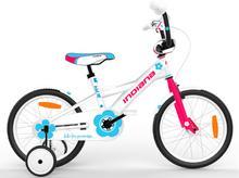 Indiana Rower dziecięcy Kid Girl 16 Biało-różowy R17IM16101137 R17IM16101137