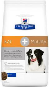 Hills Prescription Diet Canine k/d+Mobility 12 kg