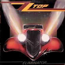 Eliminator Red Coloured Winyl ZZ Top
