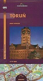 Toruń Plan miasta 1:17 000 - CartoMedia