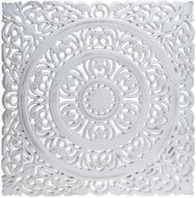 Home Styling Collection Dekoracja ścienna biała NB1601010