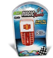 Producent niezdefiniowany Broszio Magic Tracks Auto LED Wóz strażacki Straż Pożarna 53229
