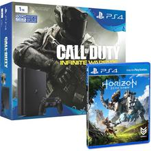 Sony PlayStation 4 1Tb D Chassis + Call of Duty Infinite Warfare + Horizon Zero Dawn