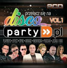 różni wykonawcy Disco Party.pl. Vol. 1, 2 CD różni wykonawcy