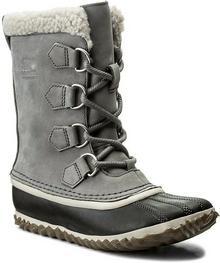 Sorel Śniegowce Caribou Slim NL2649 Quarry 052