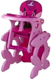 Caretero Krzesełko + Stoliczek Primus Pink