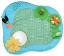 Manhattan Toy Zabawka dla niemowląt, Mata edukacyjna, niebieska, 89x68,5 cm