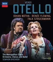Verdi Otello The Metropolitan Opera i inni) [Blu-ray] Johan Botha Chorus and Ballet Semyon Bychkov Michael Fabiano