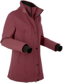 Bonprix Krótka kurtka softshell 2 w 1 czerwony klonowy