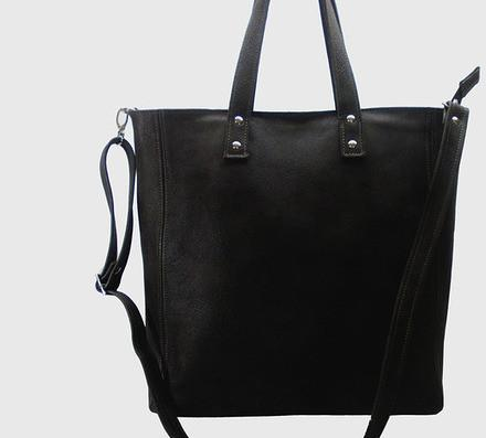 99ef9194dd506 Skórzana czarna duża torebka damska – ceny