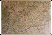 Freytag&Berndt Węgry mapa ścienna samochodowa 1:400 000 Freytag & Berndt