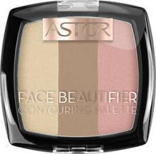 Astor Astor Face Beautifier Contouring Palette Paleta do konturowania 002 Medium AST-8121