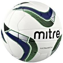 Mitre Match-Fussball ULTI Match, biały BB8014WNB-3