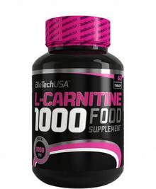 BioTech L-Carnitine 1000mg 60caps 6470