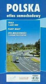 BiK Agencja Wydawnicza Polska atlas samochodowy 1:600 000 - BiK