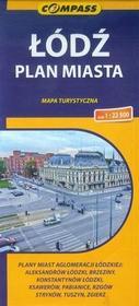 Wydawnictwo Compass Łódź plan miasta 1:22 500 - Compass