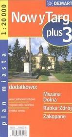 Demart Zakopane - plan miasta  (skala 1:20 000) - Demart