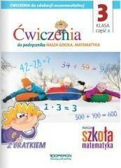 Operon praca zbiorowa Nasza Szkoła. Matematyka dla szkół podstawowych 3/2 ćwiczenia