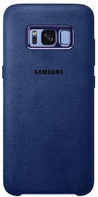 Etuo.pl Samsung Original - Samsung Galaxy S8 - etui na telefon Samsung Alcantara Cover - niebieski ETSM489SALCBLU000