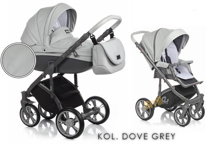 Roan Soft Eco Leather 3w1 Dove Grey