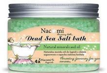 Nacomi Morska sól do kąpieli z olejem arganowym - Natural Argan Oil And Green Tea Dead Sea Salt Bath Morska sól do kąpieli z olejem arganowym - Natural Argan Oil And Green Tea Dead Sea Salt Bath