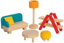 Plan Toys SALON drewniane mebelki dla lalek PT 7347