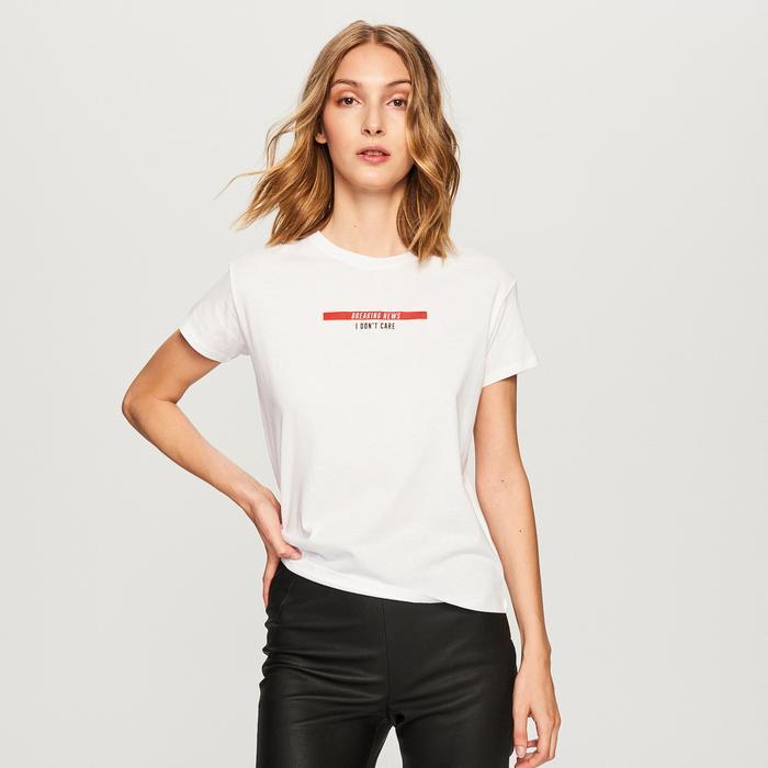 Adidas Originals 3 Stripes CY4752 damski T Shirt, bordowy, kolor: czerwony, rozmiar: 32 CY4752