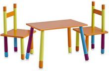 Zeller Stolik dziecięcy + 2 krzesełka ZELLER Color