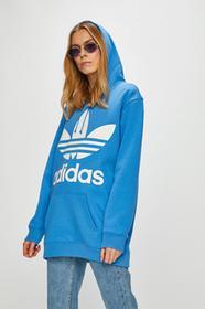 3a8bf9298dfe76 adidas Originals - Bluza Supergirl TT niebieski AJ8152 - Ceny i ...