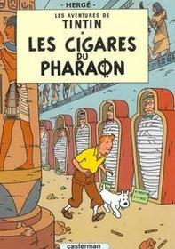 Tintin les Cigares du Pharaon - Herge