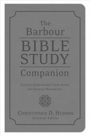 Barbour Pub Inc BARBOUR BIBLE STUDY COMPANION