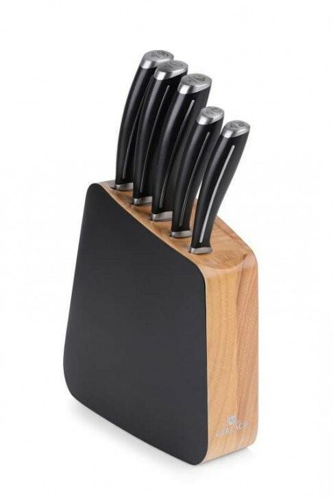 Gerlach zestaw noży kuchennych w bloku (5 elementów) 981 LOFT